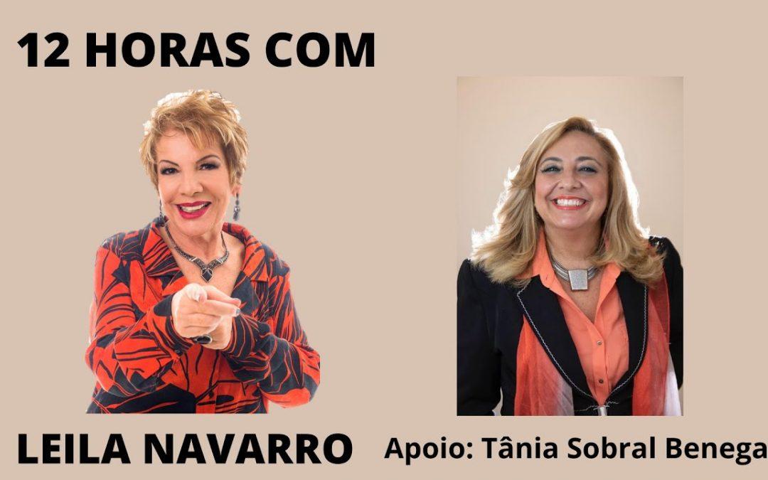 12 horas com Leila Navarro Qual o seu lugar no mundo pós Covid?