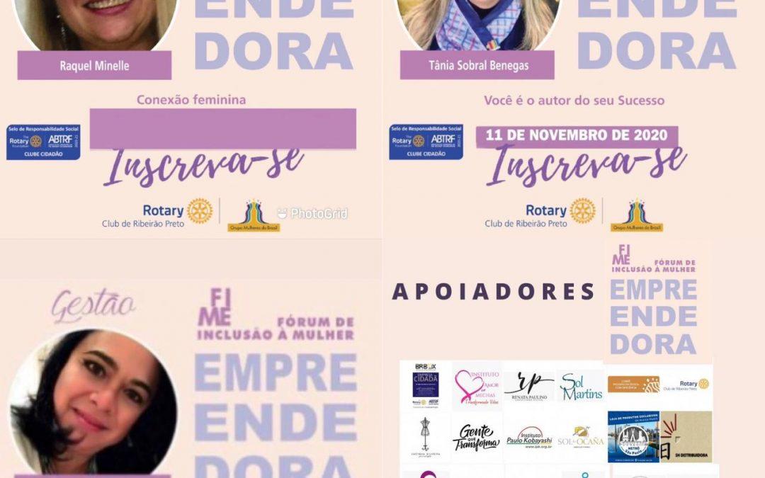 3º Fórum Internacional de Inclusão à Mulher Empreendedora